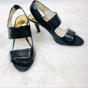 Michael Kors Size 7 1/2 M Slingback Sandals Patent